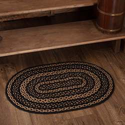 Farmhouse Jute Rug - Oval (Multiple Size Options)