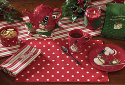 Holly Dots Placemat