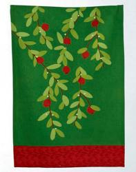 Cranberries Jardin Dishtowel