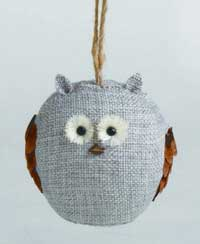 Chalet Owl Ornament