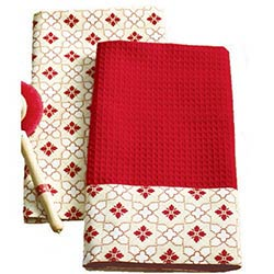 Chalet Diamond Dishtowel
