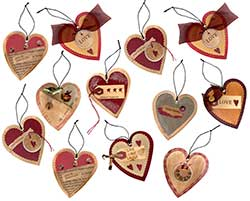 Heart Tag Ornament