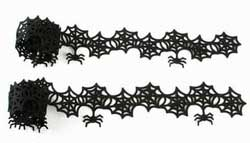 Spiderweb Felt Garland