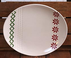 Nordic Winter Oval Platter