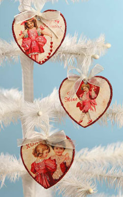 Valentine Children Heart Ornament