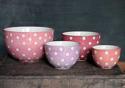 Butterfly Dots Prep Bowl Set