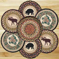 Wilderness Braided Jute Trivet Set