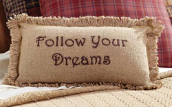 Follow Your Dreams Decorative Pillow