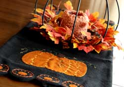 Large Pumpkin Table Runner