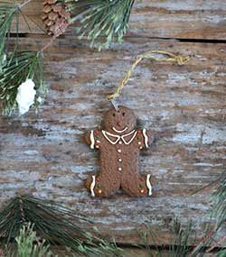 Traditional Gingerbread Boy Ornament