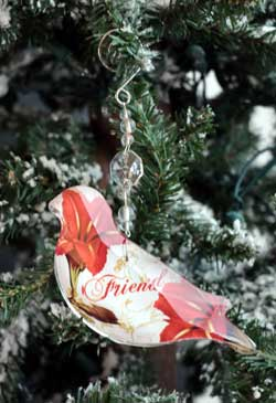 Friend Collage Ornament