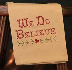 We Do Believe Towel