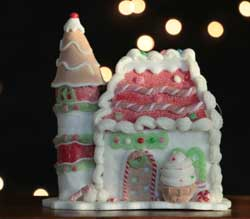 Gingerbread House - Ice Cream Castle