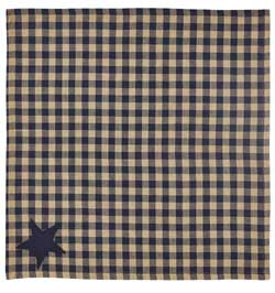 Navy Star Napkin