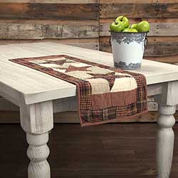 Abilene Star Table Runner - 36 inch