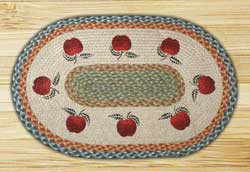 Apples Braided Jute Rug