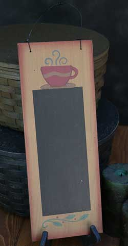 Coffee Hanging Chalkboard Sign