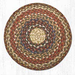 Honey, Vanilla, & Ginger Braided Jute Chair Pad