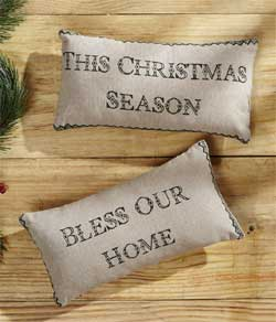 Timberland Christmas Pillows (Set of 2)