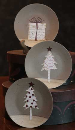 Winter Treat Jubilee Plates (Set of 3)