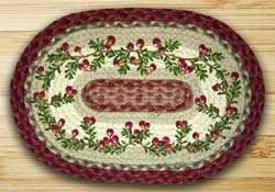 Cranberries Braided Placemat