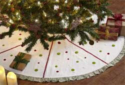 Whimsical Christmas Tree Skirt (48 inch)
