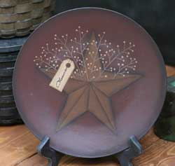 Memories Plate with Star