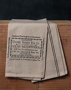 Teas & Coffees Towel