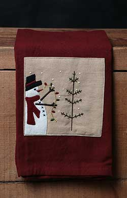 Trim a Tree Towel