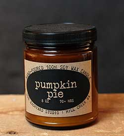 Pumpkin Pie Soy Jar Candle