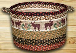 Moose & Pinecone Utility Basket