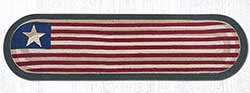 Original Flag Braided Jute Table Runner - 48 inch
