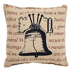 Independence Bell Pillow
