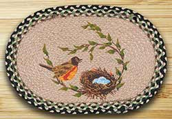 Robins Nest Braided Placemat