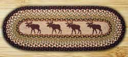 Moose Braided Jute Table Runner - 36 inch