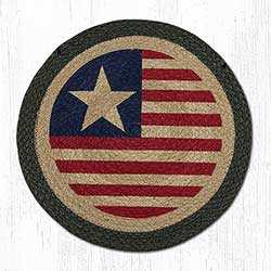 Original Flag Braided Chair Pad