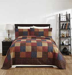 Old Glory Patchwork Quilt Set (King Size)