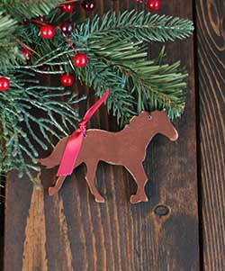 Horse Ornament (Free personalization!)