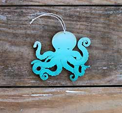 Octopus Ornament (Personalized)
