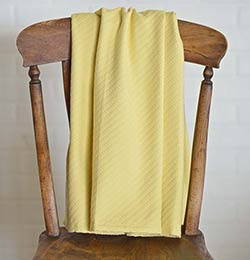 Butter Yellow Baby Blanket
