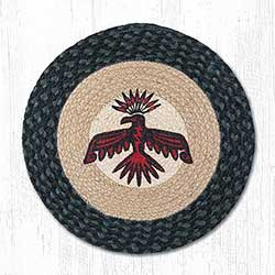 Thunderbird Braided Chair Pad