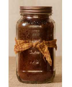 Banana Nut Mason Jar Candle - 16 oz