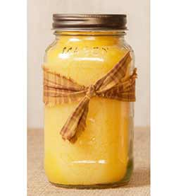Georgia Peach Mason Jar Candle - 16 oz