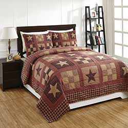 Bradford Star King Quilt Set