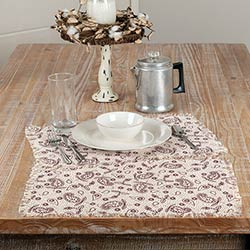 Calistoga Tobacco Cloth Placemats (Set of 6)