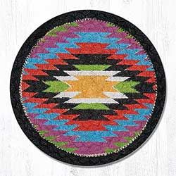 Native Braided Tablemat - Round (10 inch)