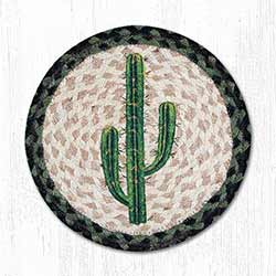 Saguaro Braided Tablemat - Round (10 inch)
