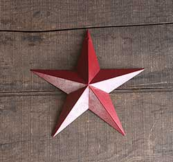 Red Barn Star (Multiple Size Options)