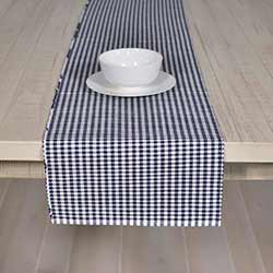 Tara Navy Blue 72 inch Table Runner
