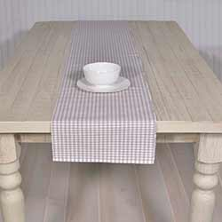Tara Grey 72 inch Table Runner